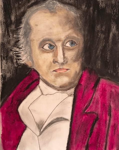 WIlliam Blake Portrait by Eric Wilson