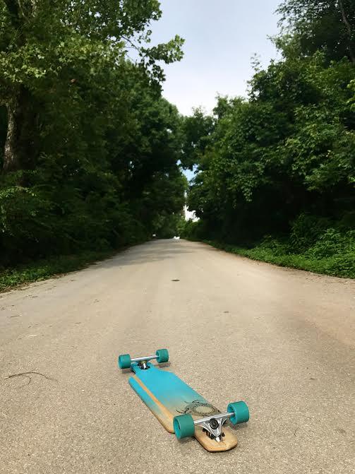 Teal Longboard